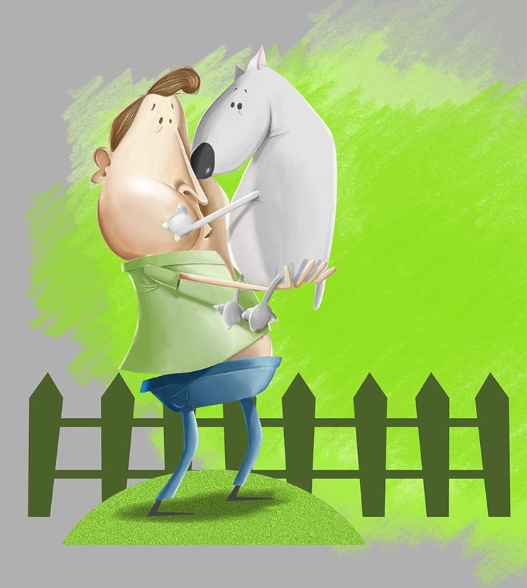 Ilustración, prueba de estilo | Frco. Javier Lekuona Ilustración