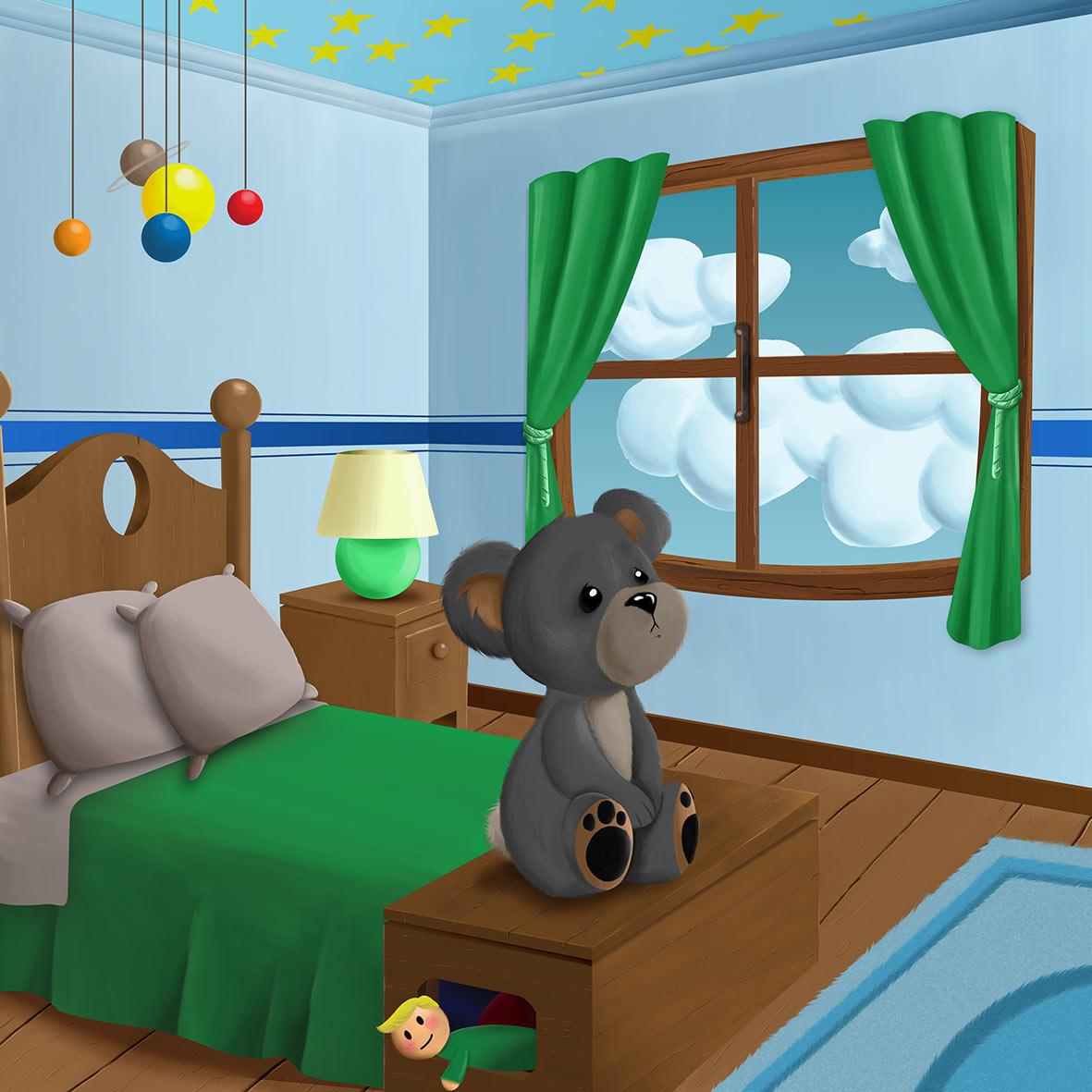 Una de las ilustraciones para cuento infantil en apoyo a las personas en riesgo de exclusión. Francisco Javier Lekuona | Ilustrador